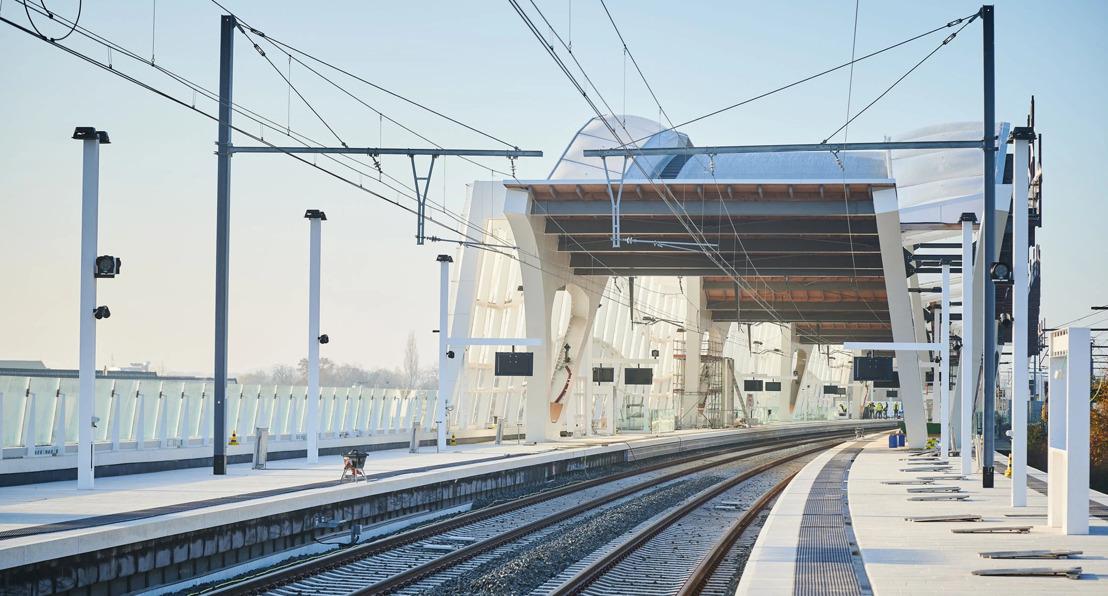 Infrabel et la SNCB achèvent les derniers travaux du Bypass ferroviaire de Malines