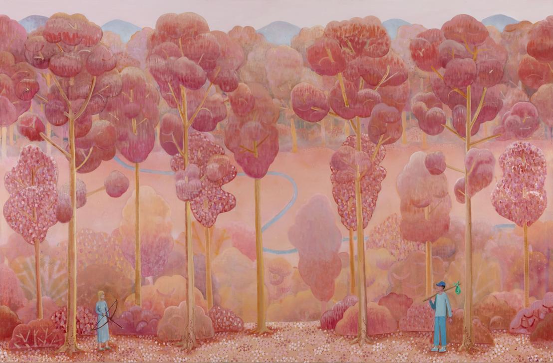 Solotentoonstelling van Ben Sledsens bij Tim Van Laere Gallery