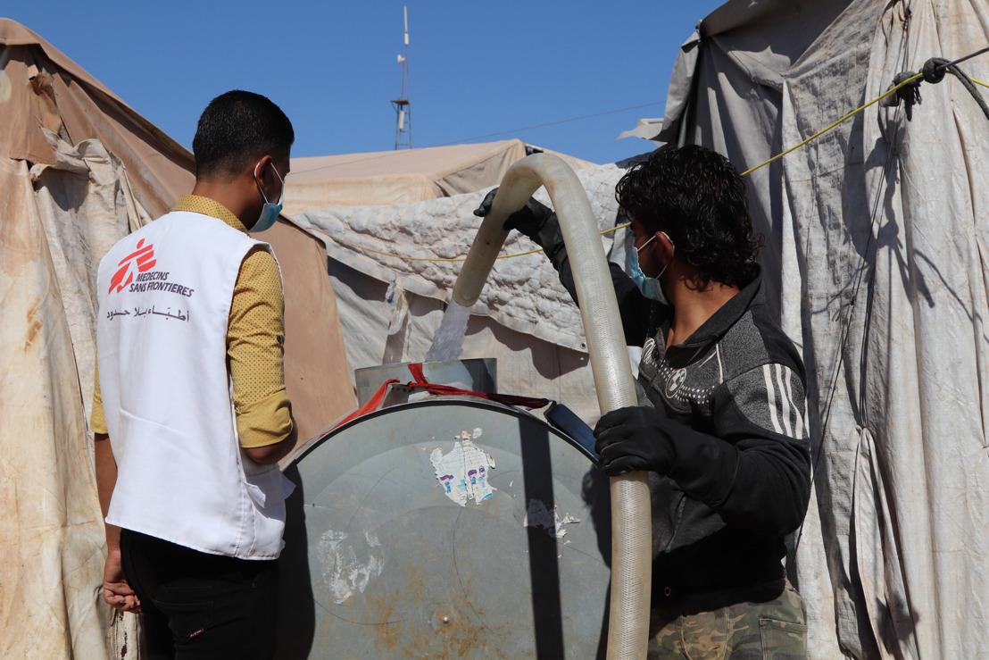 Nord de la Syrie : le manque d'accès à l'eau met la santé de la population en péril