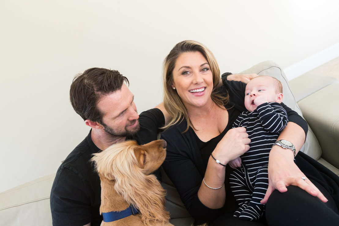 Talitha Cummins and family (photo credit: Christopher Getts)