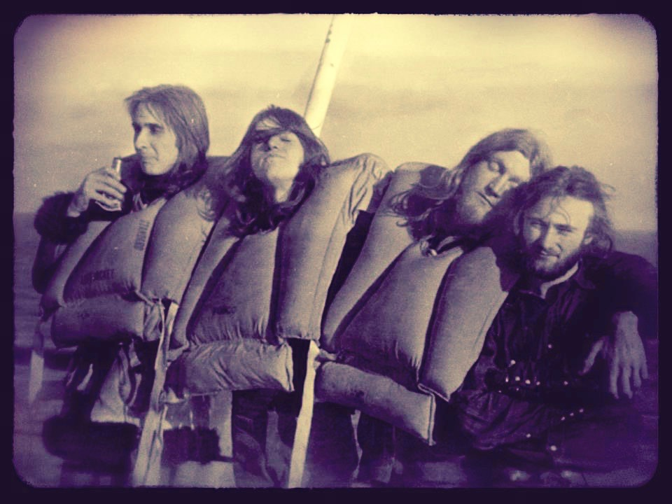 Richard Macphail onboard with Genesis 1971