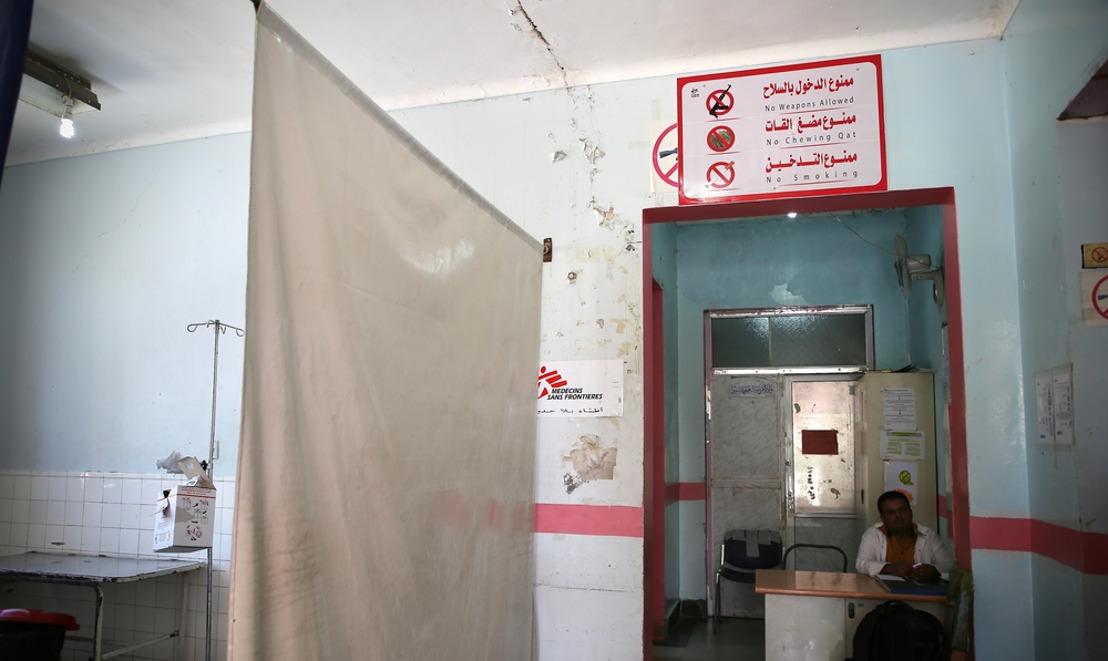 Humanitarian medical space under indiscriminate attack in Taiz City