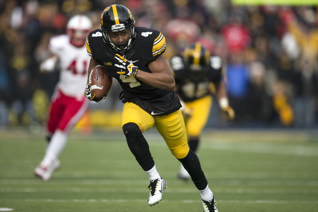 1. Tevaun Smith, Iowa (photo credit: Iowa Athletics)