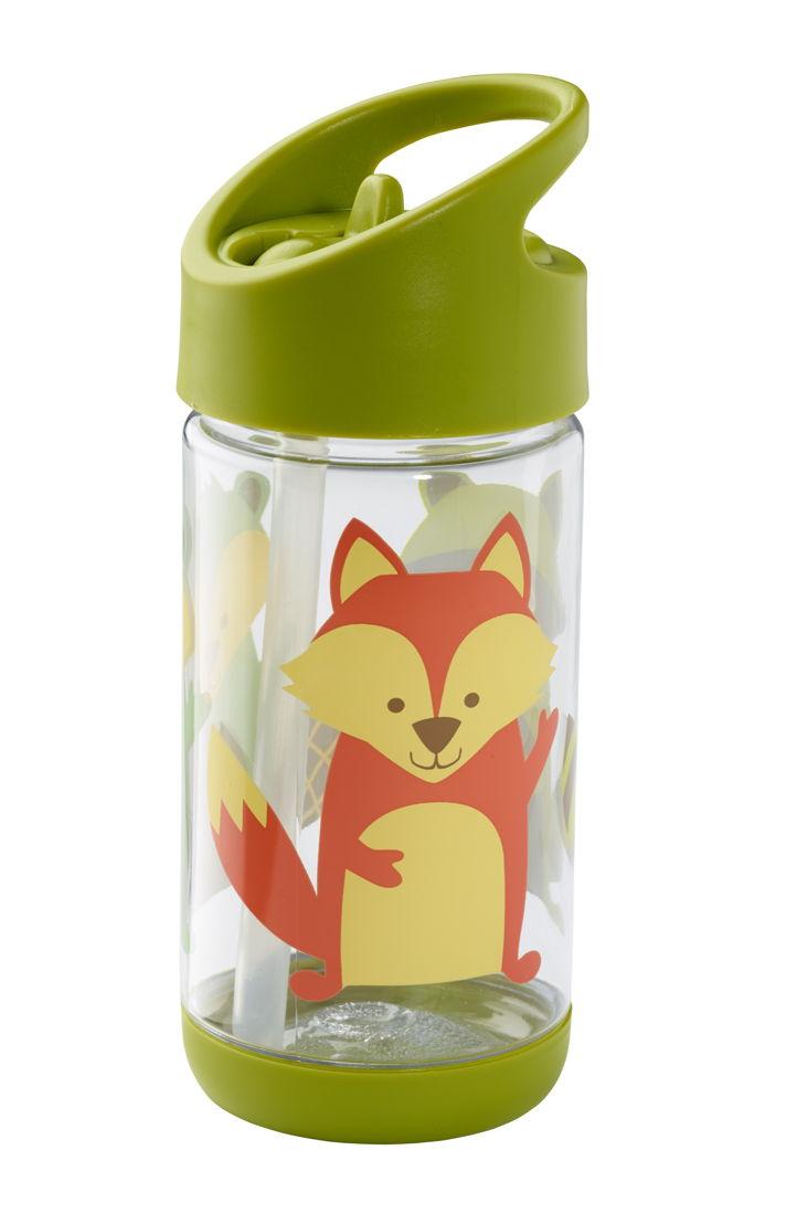 SugarBooger handige flip & sip tritan drinkfles What did the fox eat - €15,95