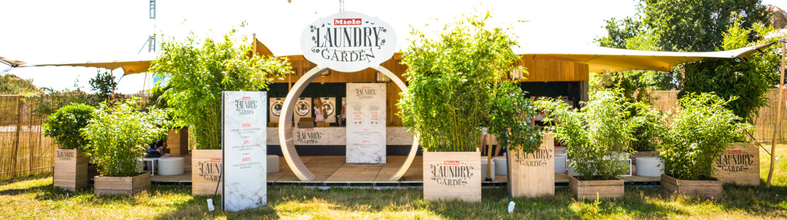 Miele Laundry Garden draait op volle toeren tijdens Tomorrowland
