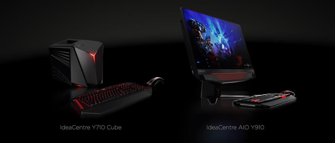 Lenovo lanceert nieuwe gaming desktops voor virtual reality gaming