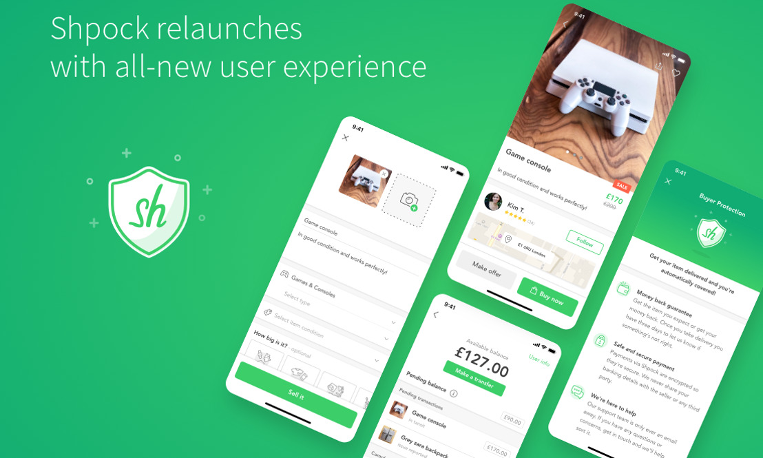 Shpock relaunches with all-new features offering in-app digital payments and buyer protection