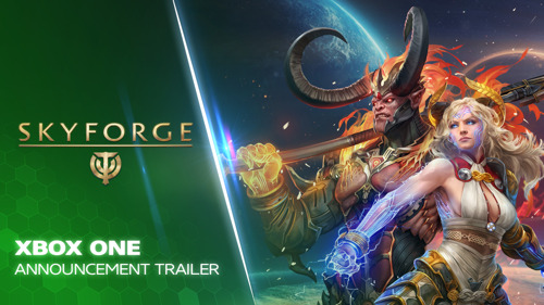 FREE-TO-PLAY MMO SKYFORGE LAUNCHING ON XBOX ONE THIS YEAR