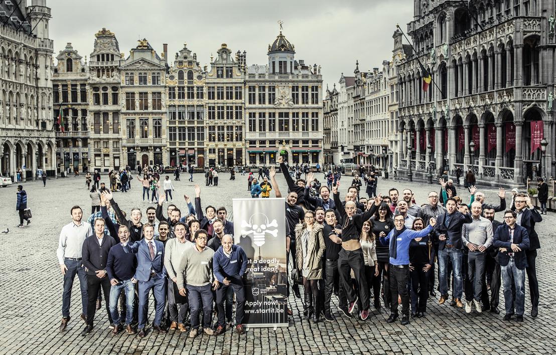 Start it @kbc stelt nieuwe lichting start-ups voor en onthult ambities 2017