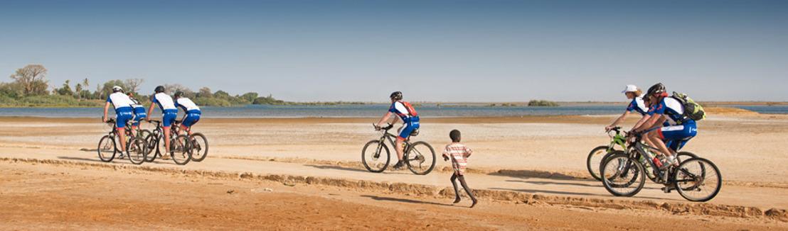 Brussels Airlines' Bike for Africa zamelt €150.000 in voor het goede doel. [Fotoreportage]