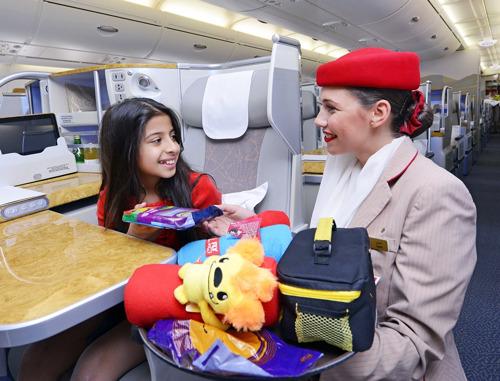 Emirates flies 'Family Tree' star to Milan Expo 2015