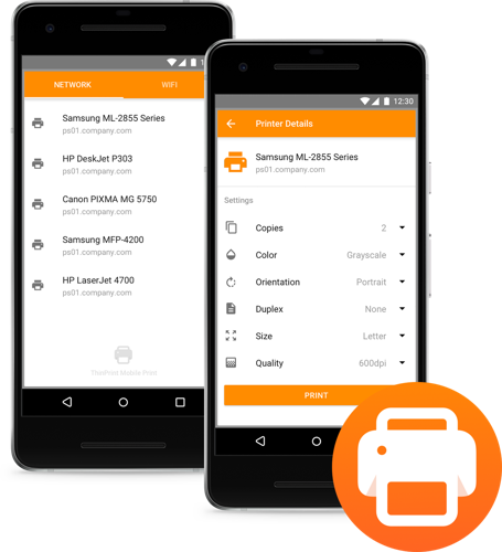 ThinPrint Launches the First Managed and Secure Mobile Printing Solution for Businesses