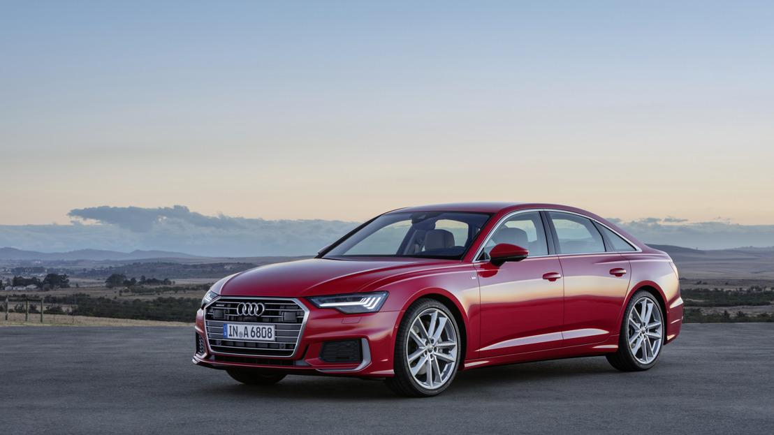 Numérisation, confort, sportivité et design : les quatre mots-clés de la nouvelle Audi A6 Berline