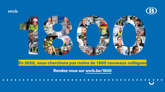 """Preview: La SNCB se lance dans le """"Challenge 1800"""" !"""
