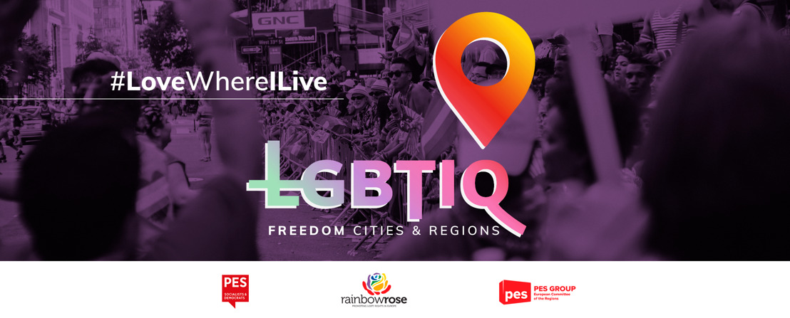 """""""Declare your cities and regions LGBTIQ Freedom Zones"""", say European socialists ahead of Pride Month"""