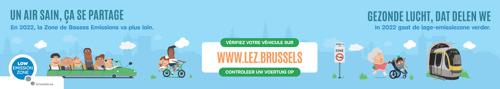 Air, lage-emissiezone voor Leefmilieu Brussel