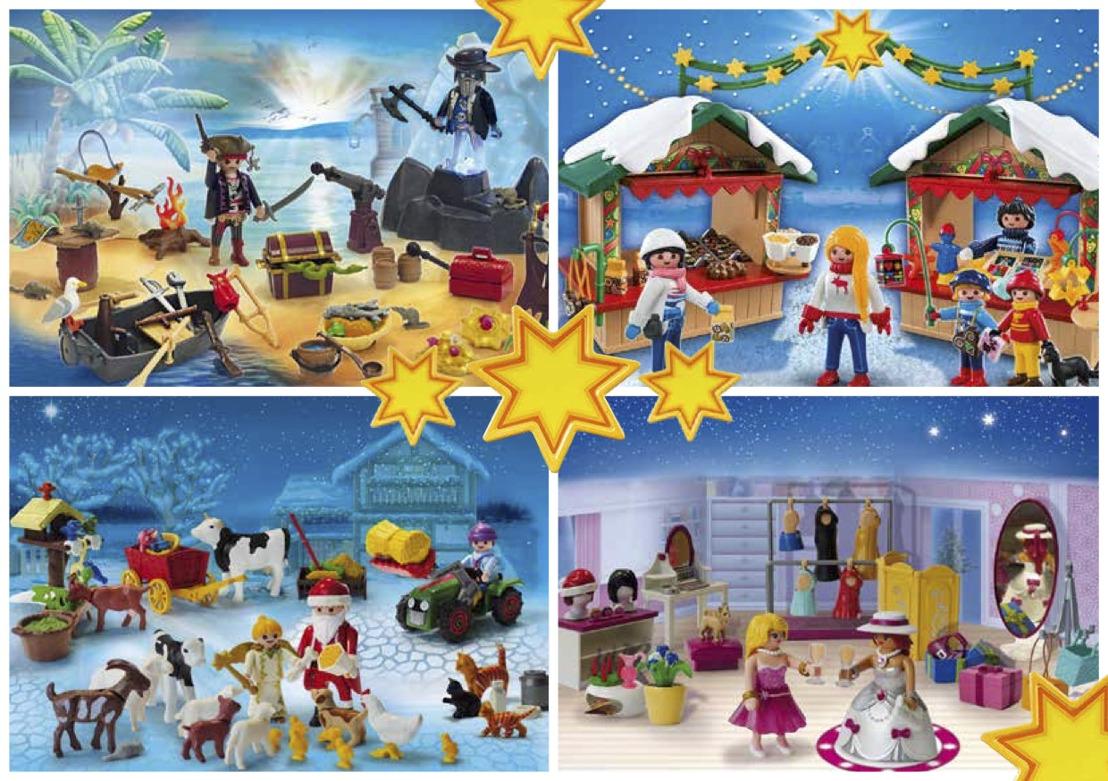 Le père Noël fait des heures supplémentaires chez PLAYMOBIL !