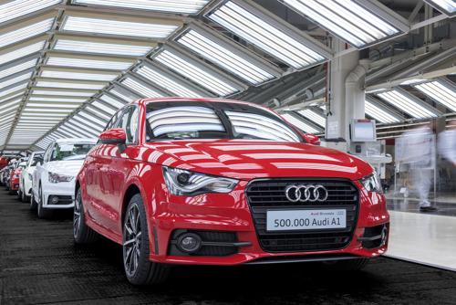 500.000ste Audi A1 rijdt van de band