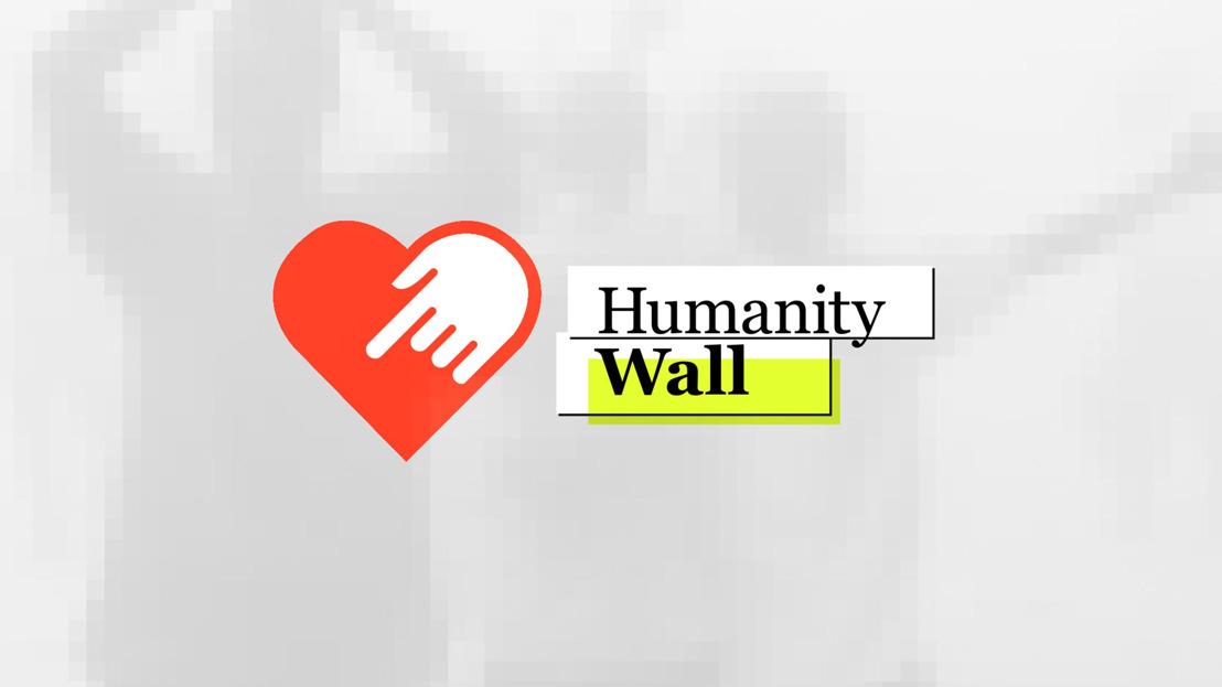 Humanity Wall. Digitale toegang tot informatie, via donatie.