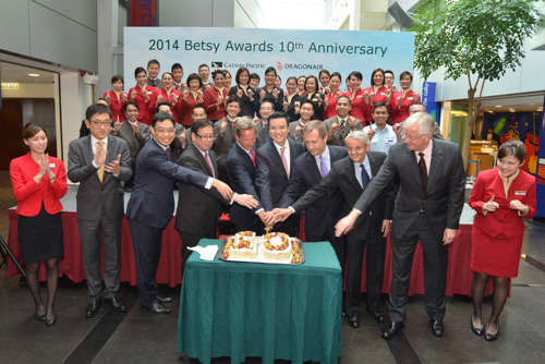 Outstanding staff honoured for exceptional service at the 10th Betsy Awards