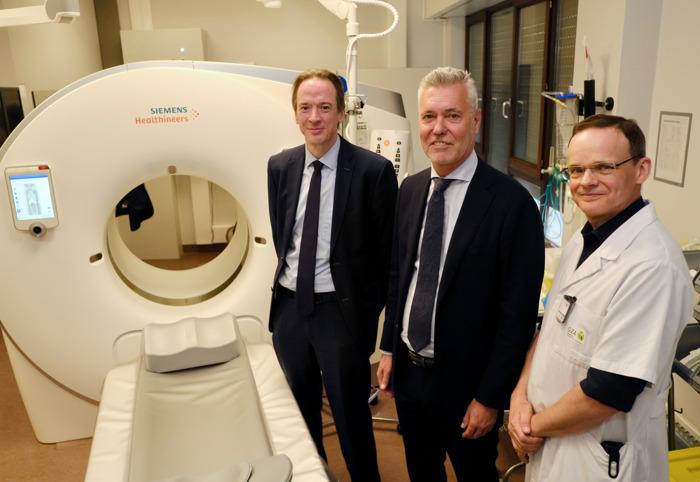 GZA Ziekenhuizen investeert in zorgkwaliteit, uniforme werking en patiëntencomfort met vier nieuwe CT-scanners