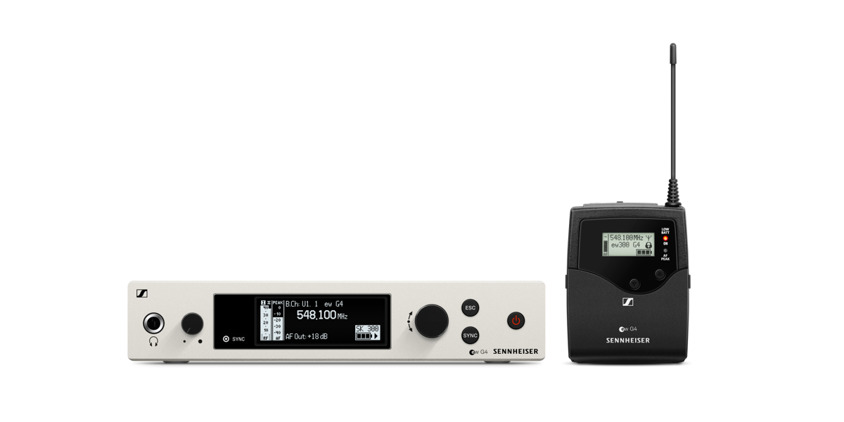 evolution wireless G4 – the fourth generation makes professional wireless microphone technology even more simple, flexible and reliable  On BIMobject: EM 300-500 G4 rack-mount receiver EM 100 G4 rack-mount receiver