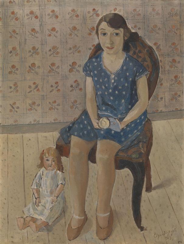 Edgard Tytgat, La dernière poupée, 1923,<br/>Museum voor Schone Kunsten, Gent ©www.lukasweb.be - Arts in Flanders vzw, foto Dominique Provost<br/>(c) SABAM Belgium 2017