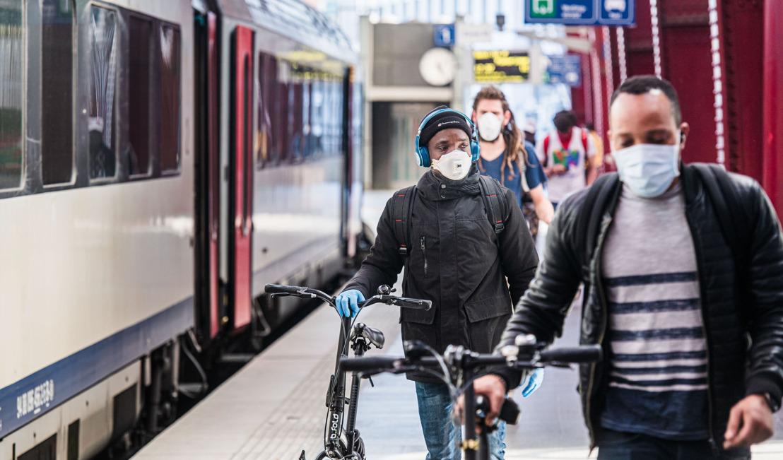 Les Chemins de fer belges facilitent la vaccination contre la COVID-19