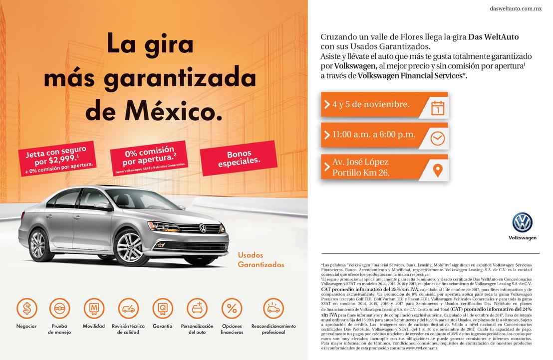 Llega la gira Das WeltAuto al Estado de México