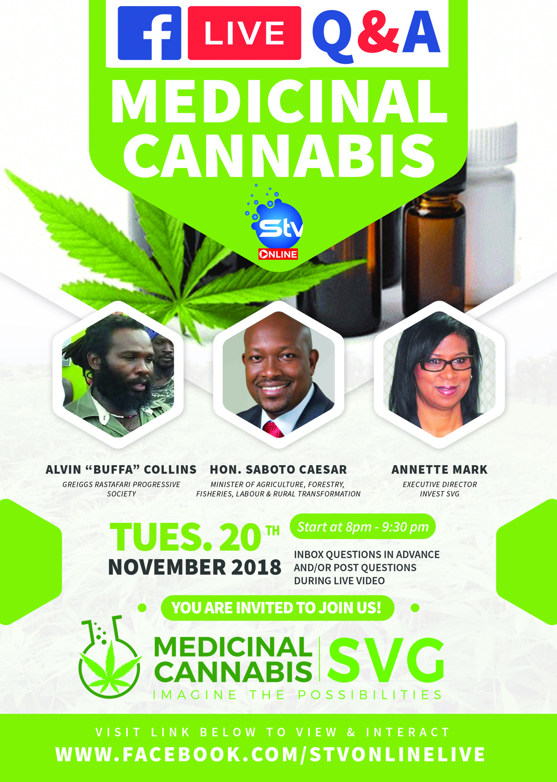 Medicinal Cannabis Investment Opportunities: Saint Vincent and the Grenadines Holds Live Q&A Session