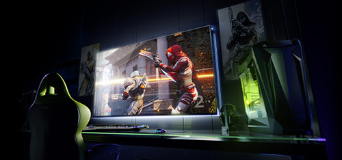 NVIDIA erweitert PC-Gaming mit einer neuen Generation von Großformat-Gaming-Displays