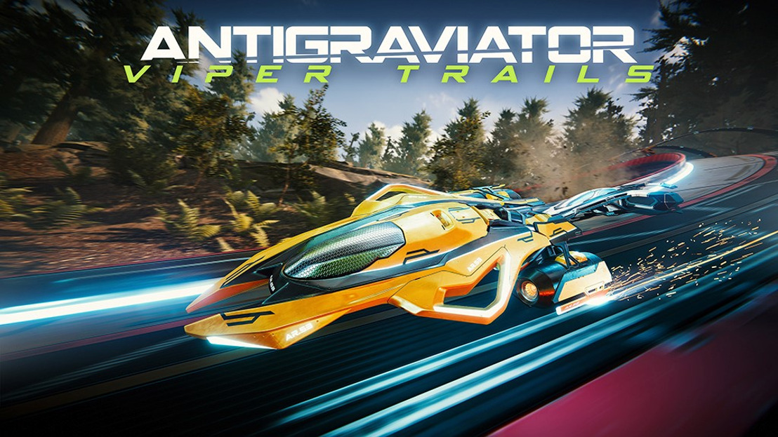 ANTIGRAVIATOR: VIPER TRAILS DLC IS AVAILABLE NOW!
