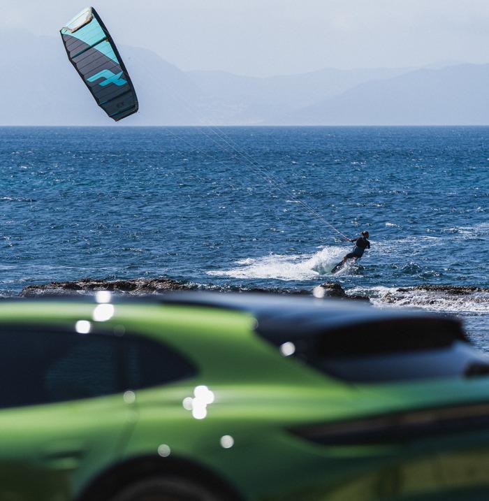 Porsche gets involved in kitesurfing