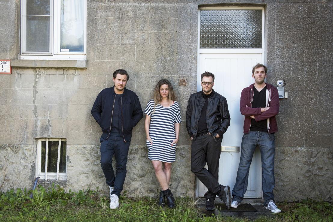 Gilles Coulier, Julie Mahieu, Dries Vos en Jonas Geirnaert ©Lies Willaert
