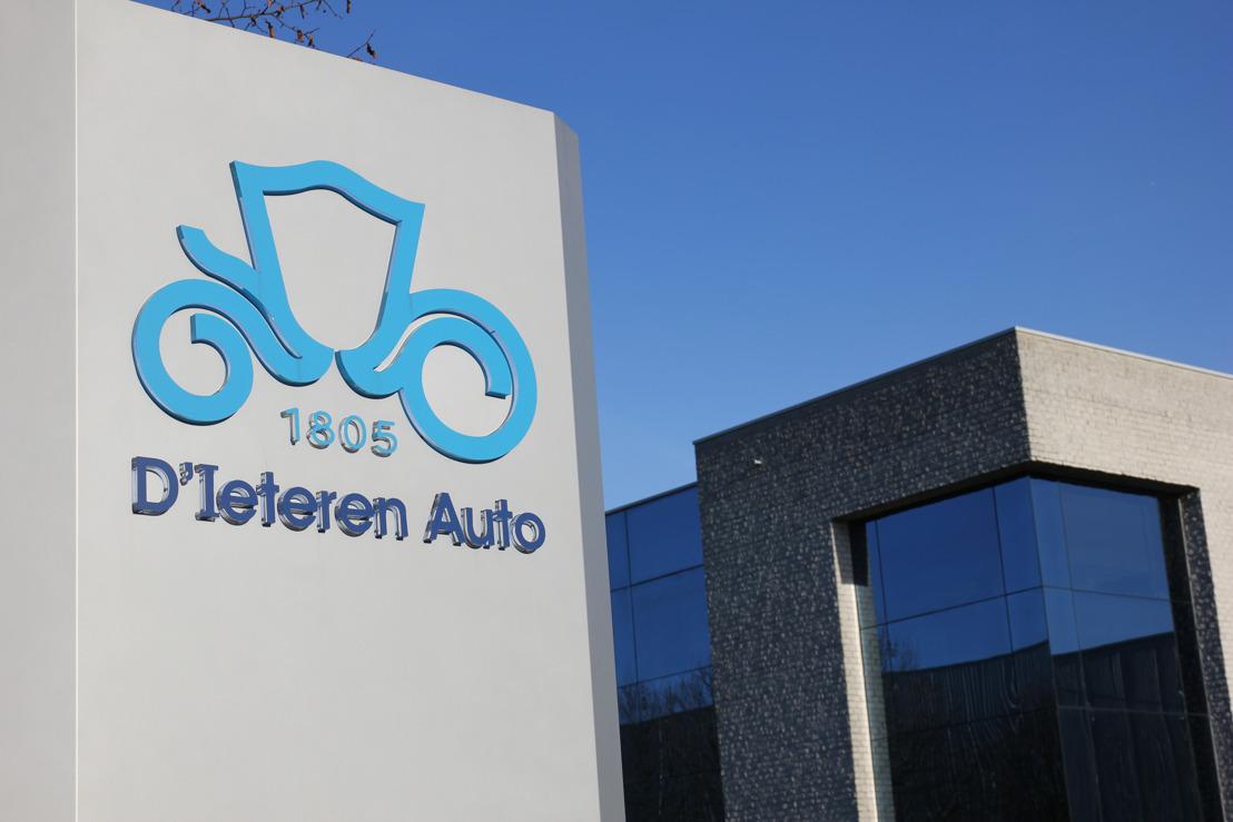 D'Ieteren Auto en zijn netwerk van concessiehouders creëren een nationale franchise van multimerken-koetswerkherstellers