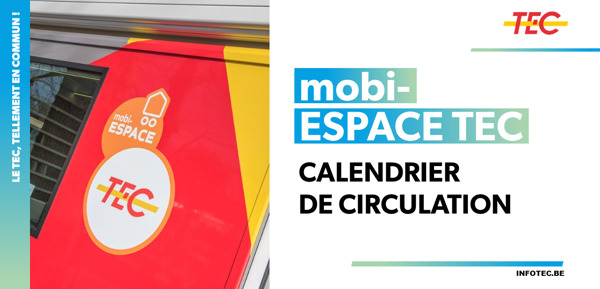 Preview: mobi-ESPACE TEC | Calendrier de circulation