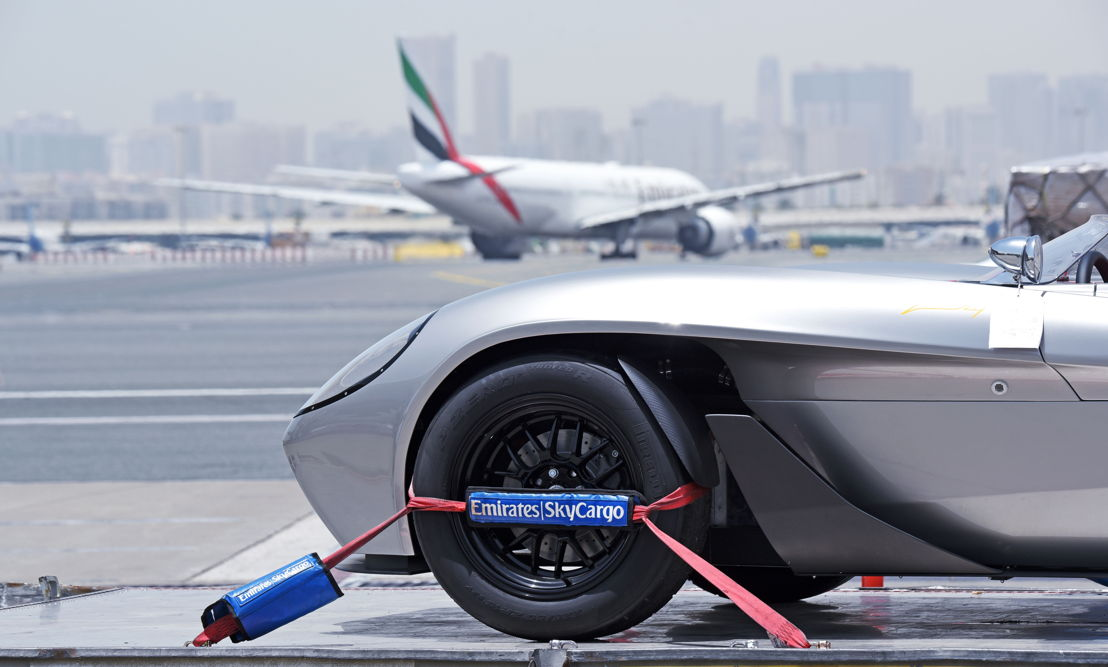 Emirates SkyWheels is Emirates SkyCargo's specialist solution for transporting premium cars