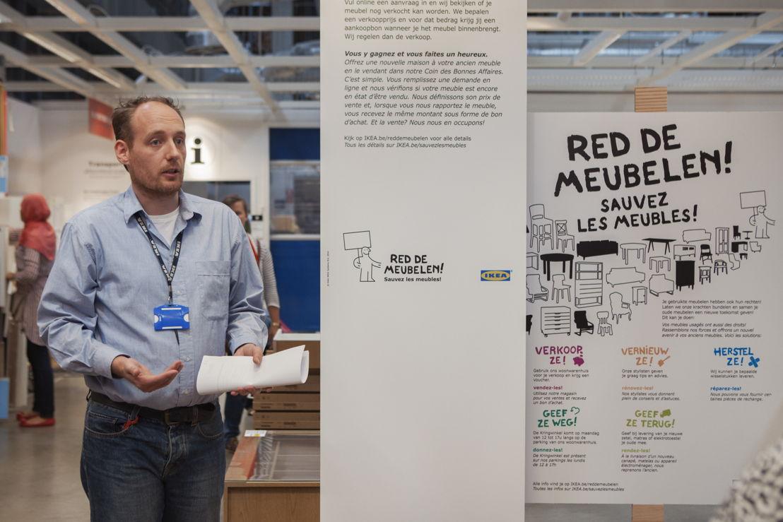 Marcus Buijtenweg, recovery manager bij IKEA België
