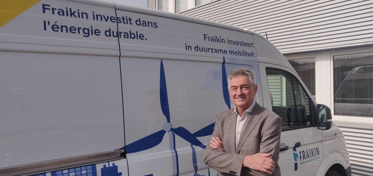 Jan Van De Perre, CEO de Fraikin Benelux