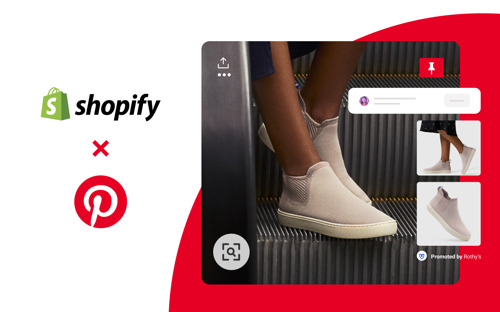 Shopify and Pinterest launch new channel allowing merchants to target platform's 350M+ monthly users