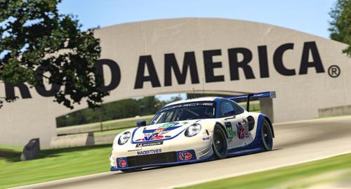 Race, IMSA iRacing Pro Series, round 4, Elkhart Lake (USA)