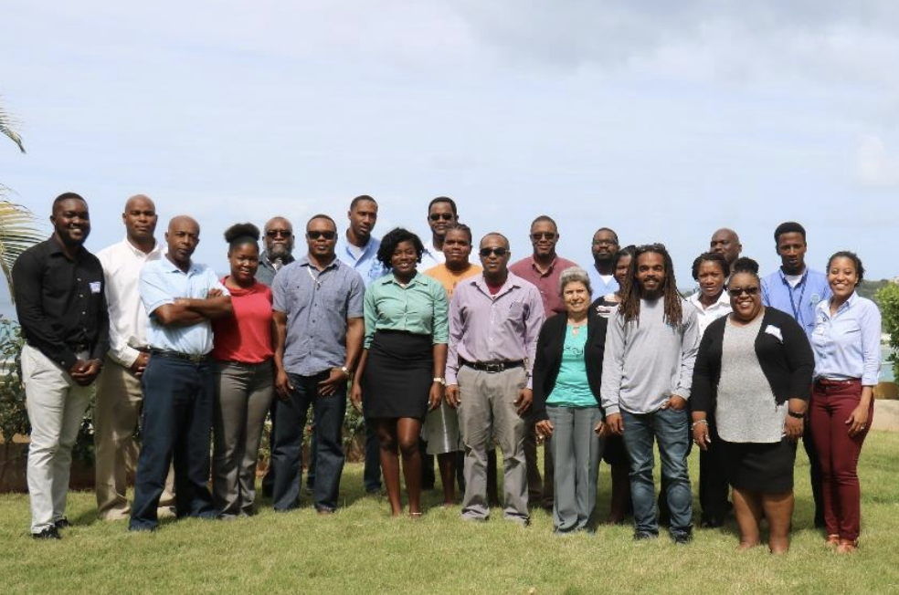 Participants at the workshop held in Anguilla, January 22nd-25th 2019