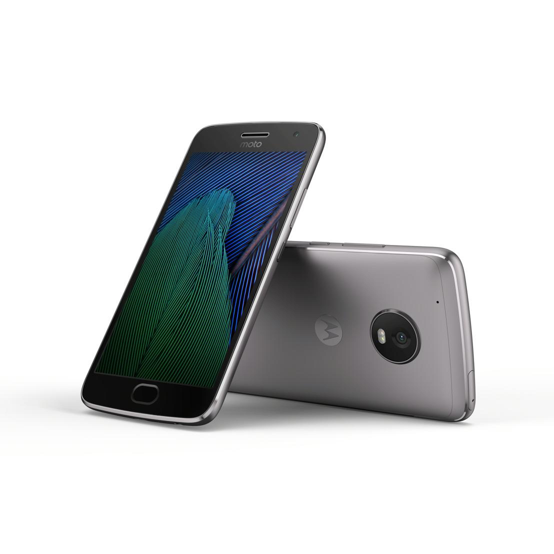 De nieuwe Moto G⁵ en Moto G⁵ Plus: iedereen premium!