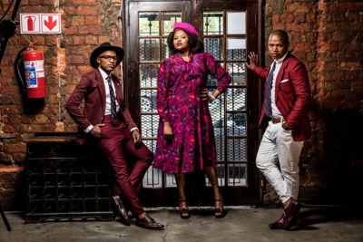 The Soil credit Infadizle: Left Ntsika Ngxanga, Buhle Mda and Luphindo Ngxanga