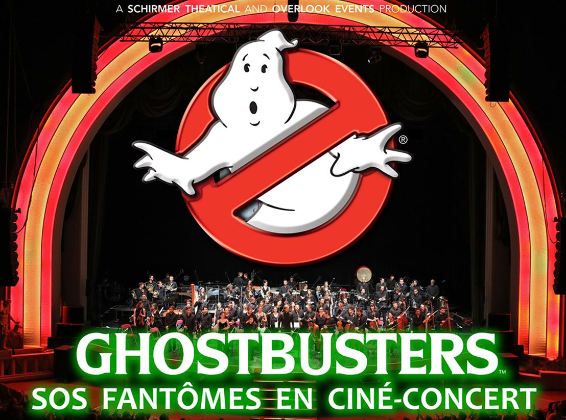 GHOSTBUSTERS en ciné-concert le 22 octobre au Grand Rex !