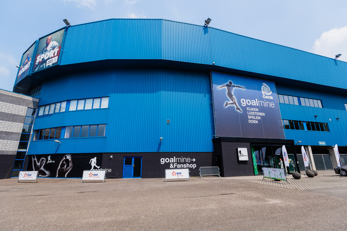 C02-uitstoot van de Luminus Arena al met de helft verminderd