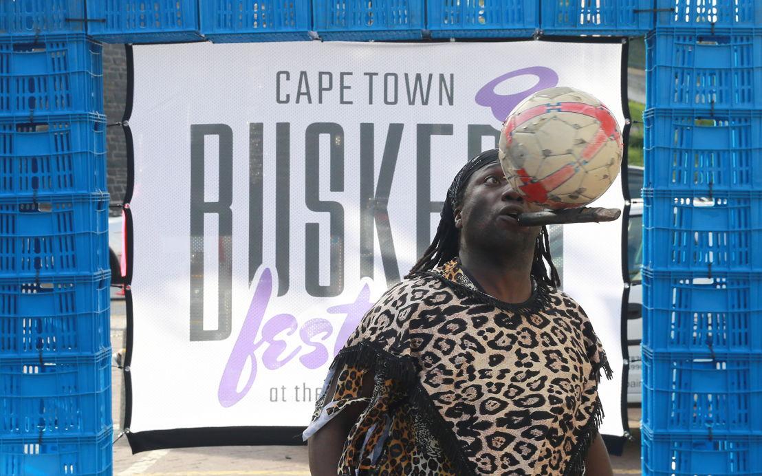Buskers´ Festival with Owen Bravo - credit Nardus Engelbrecht Cape Town Fringe 2016
