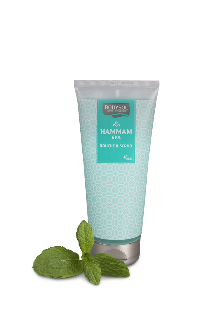 Hammam Spa Douche & Scrub van Bodysol - € 6,99 (200 ml)