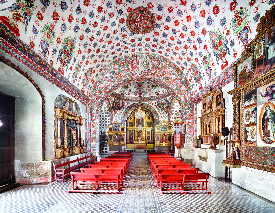 Iglesia de San Jerónimo Tlacochahuaya I 2015 / © Candida Höfer / VG Bild-Kunst