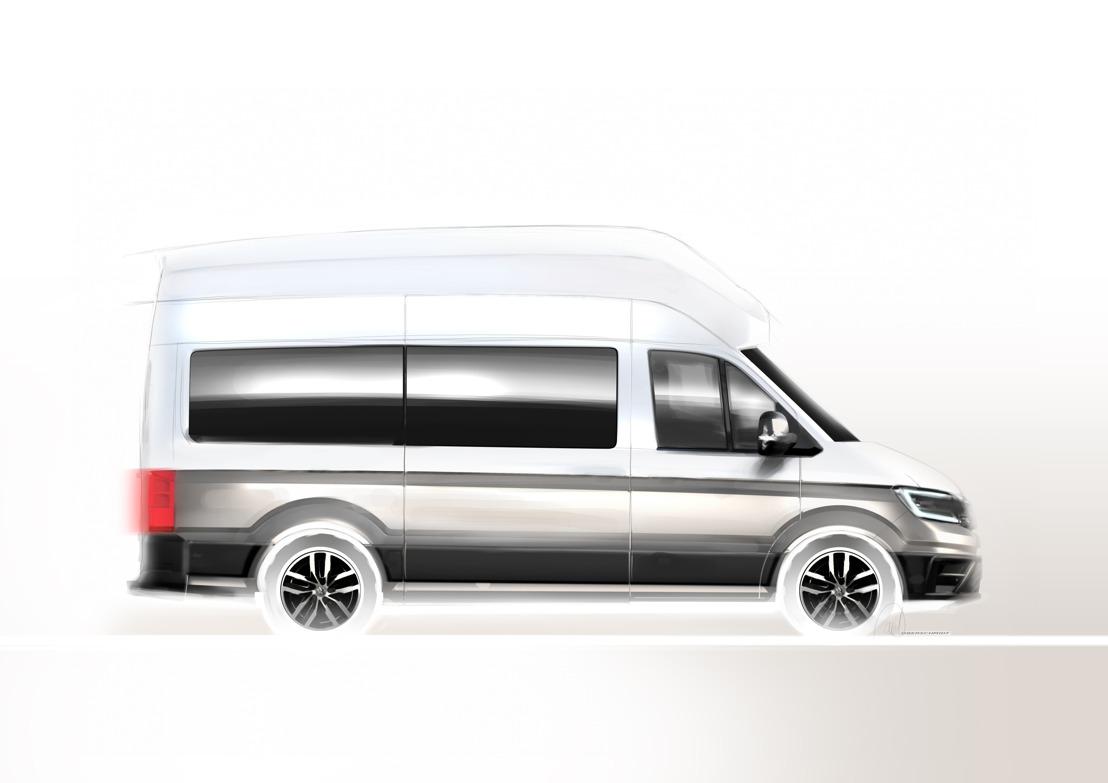 Volkswagen Commercial Vehicles onthult nieuwe kampeerwagen op het Caravan Salon 2018